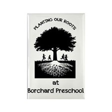 Borchard Preschool Rectangle Magnet