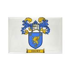 SHORT Coat of Arms Rectangle Magnet