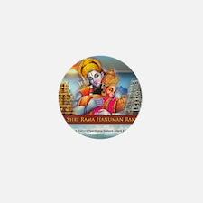 Om Sri Rama Hanuman Raksha Mini Button