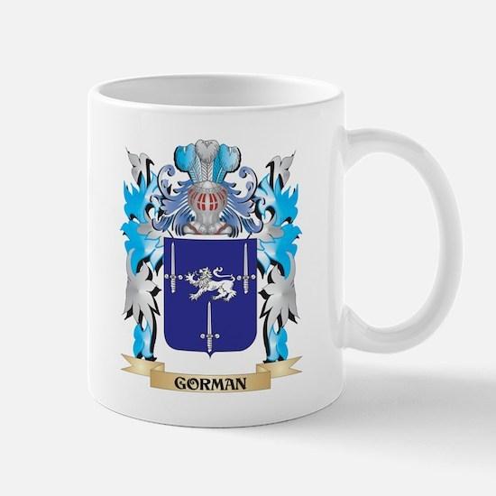 Gorman Coat of Arms - Family Crest Mugs