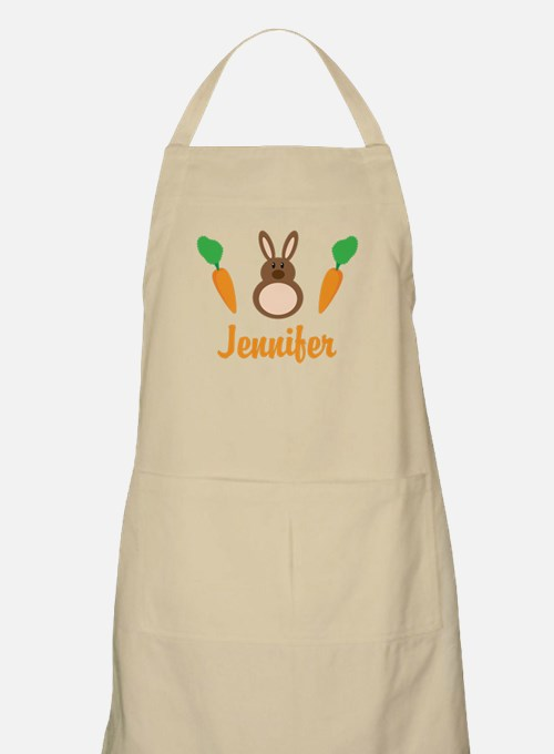 Easter Bunny Personalized Holiday Apron