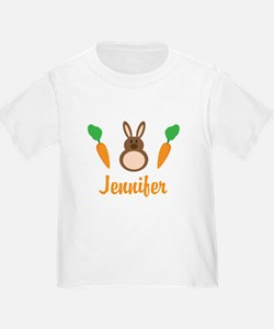 Easter Bunny Personalized Holiday T-Shirt