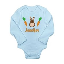 Easter Bunny Personalized Holiday Body Suit