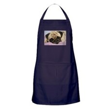 Unique Pug Apron (dark)