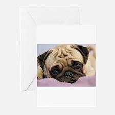 Pug Greeting Cards