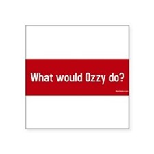 """Cool Would Square Sticker 3"""" x 3"""""""