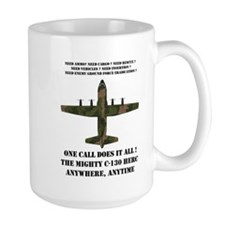 EAM Mighty C-130 Mug
