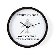 ME P.1101 Wall Clock