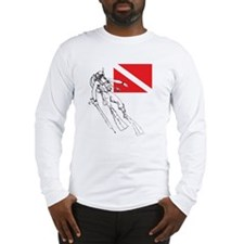 Diver Down Long Sleeve T-Shirt