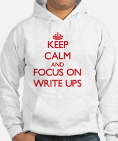Unique Keep calm and write on Hoodie