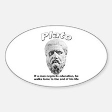 Plato 01 Oval Decal