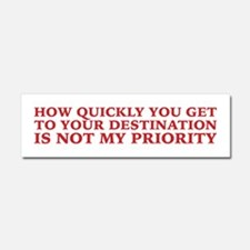 Please Slow Down on the Road Car Magnet 10 x 3