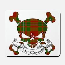 MacGregor Tartan Skull Mousepad