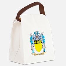 Cute Graham Canvas Lunch Bag