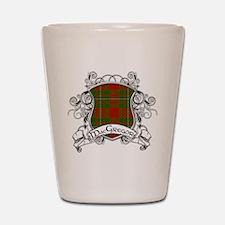 MacGregor Tartan Shield Shot Glass