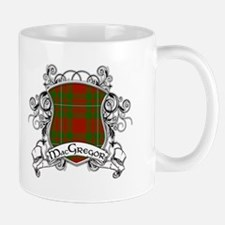 MacGregor Tartan Shield Small Mugs