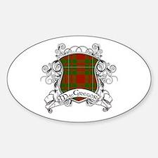 MacGregor Tartan Shield Decal
