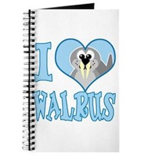 I Love (Heart) Walrus Journal