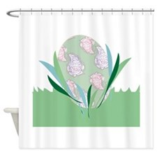 Paisley Egg Shower Curtain