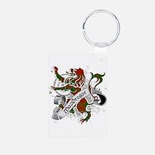 MacGregor Tartan Lion Keychains