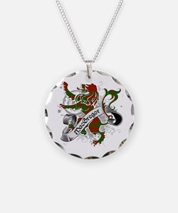 MacGregor Tartan Lion Necklace