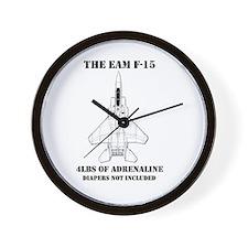 F-15 Wall Clock