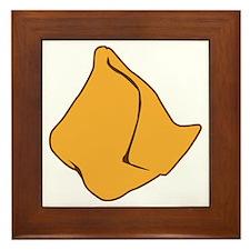 I Love Samosas Framed Tile