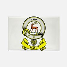 SCOTT 1 Coat of Arms Rectangle Magnet