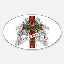 MacGregor Tartan Cross Decal