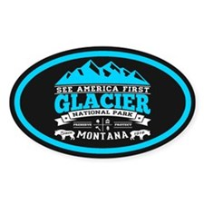 Glacier Vintage Decal