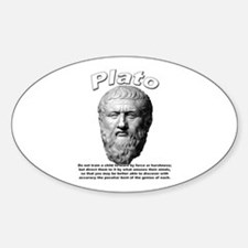 Plato 02 Oval Decal
