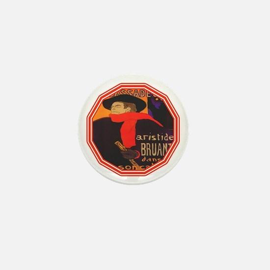 Aristide Bruant Mini Button