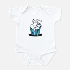 KiniArt Westie Pupcake Infant Bodysuit