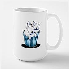 KiniArt Westie Pupcake Mug