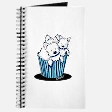 KiniArt Westie Pupcake Journal