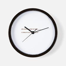 sayings Wall Clock