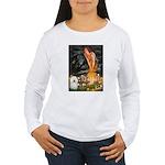 Fairies & Bolognese Women's Long Sleeve T-Shirt