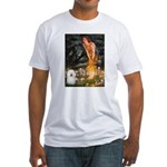 Fairies & Bolognese Fitted T-Shirt