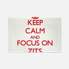 Keep Calm and focus on Zits Magnets
