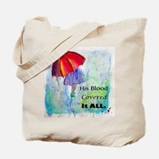 First Red Umbrella Tote Bag