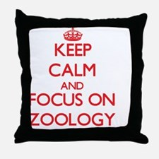 Cute Zoology Throw Pillow