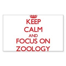 Keep Calm and focus on Zoology Decal