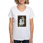 Ophelia & Bolognese Women's V-Neck T-Shirt