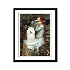 Ophelia & Bolognese Framed Panel Print