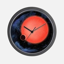 Cute Satellite Wall Clock