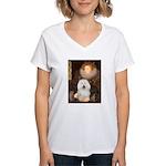 The Queen's Bolognese Women's V-Neck T-Shirt