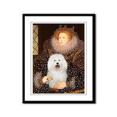 The Queen's Bolognese Framed Panel Print