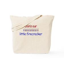 Dan Firecracker Tote Bag