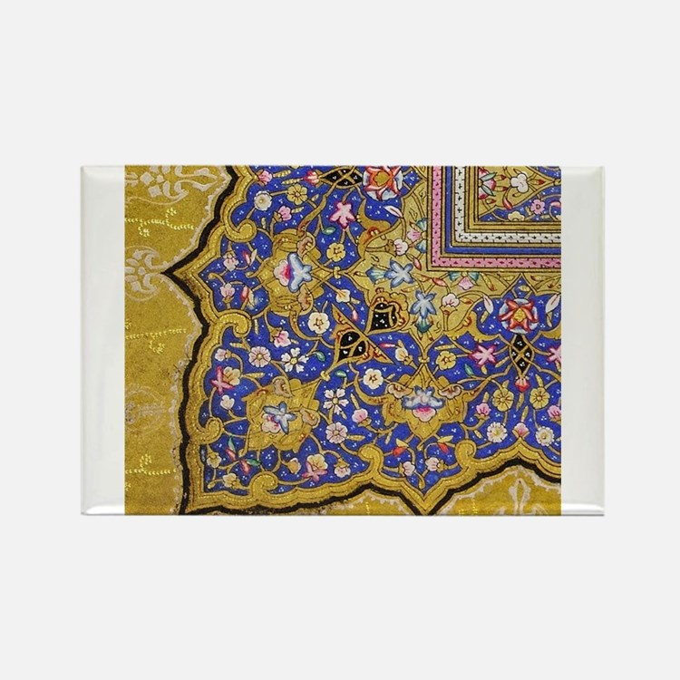 Arabian Floral Pattern Magnets