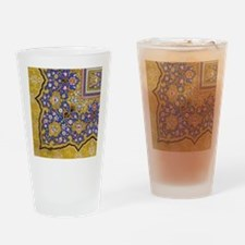 Arabian Floral Pattern Drinking Glass